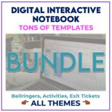 Digital Interactive Notebook BUNDLE - Distance Learning