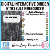 Digital Interactive Notebook Binder with Built in Resource
