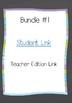Digital Interactive Notebook Bundle #1