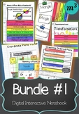 Digital Interactive Notebook Bundle #1