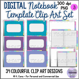 Digital Interactive Notebook Clip Art Set 3 (Landscape)