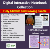 Digital Interactive Notebook Collection - A Growing Bundle