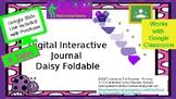 Digital Interactive Notebook Daisy Foldable