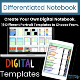 Digital Interactive Notebook Differentiated   Distance Learning