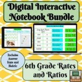Digital Interactive Notebook-Distance Learning-Ratios and