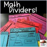 Digital Interactive Notebook Dividers