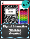 Digital Interactive Notebook Essentials