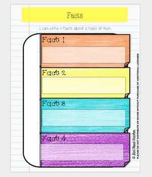 Digital Interactive Notebook Fact and Opinion