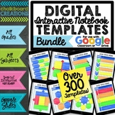 Digital Interactive Notebook & Graphic Organizer Template