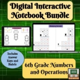 Digital Interactive Notebook- Distance Learning- Numbers O