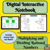 Digital Interactive Notebook- Multiplying -Dividing -Ratio