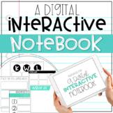 Digital Interactive Notebook Resources