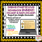 Digital Interactive Notebook Template BUNDLE!