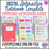 Digital Interactive Notebook Template - Compatible with Go