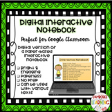 Digital Interactive Notebook Template: Non-Fiction