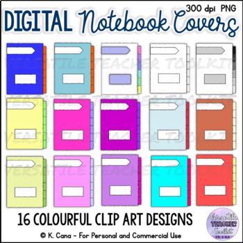 Digital Interactive Notebook Template and Clip Art Bundle ...