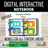 Digital Interactive Notebook Template for Distance Learnin