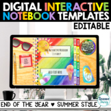 Digital Interactive Notebook Templates Google Slides  END