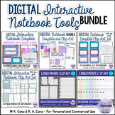 Digital Interactive Notebook Tools Bundle