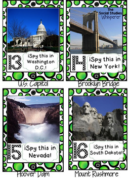 U.S. Landmark iSpy Challenge for GOOGLE Drive
