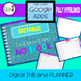 Digital Interactive Notebook and Planner - Design Cover #1