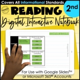 Digital Interactive Notebook for 2nd Grade | Mentor Text R