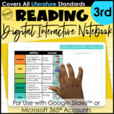 Digital Interactive Notebook for 3rd Grade | Mentor Text R