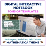 Digital Interactive Notebook for ANY subject - MATHEMATICA