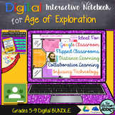 Digital Interactive Notebook for Age of Exploration (Dista
