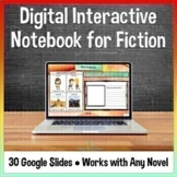 Digital Interactive Notebook for Novels for Google Classro