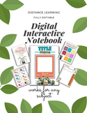 Digital Interactive Notebook for Any Subject (Distance Learning)
