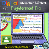 Digital Interactive Notebook for Enlightenment Era (Distan