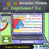 Digital Interactive Notebook for Enlightenment Era (Distan