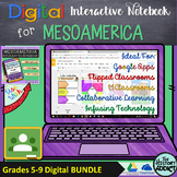 Digital Interactive Notebook for Middle Ages Mesoamerica (