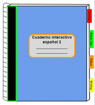 Digital Interactive Notebook for Spanish 2