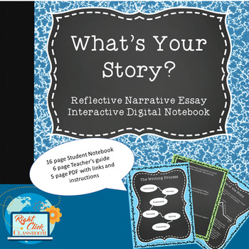 Digital Interactive Notebook for Writing a Narrative Essay