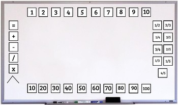Digital Interactive Number and Coin Activities