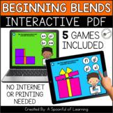Digital Interactive PDF Games - Beginning Blends