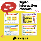 Digital Interactive Phonics Bundle | Google Slides & Seesaw
