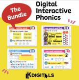 Digital Phonics Bundle   Google Slides & Seesaw