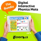 Digital Interactive Phonics Mats Bundle - Google Slides™ &