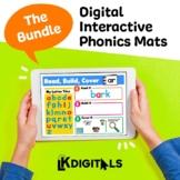 Digital Interactive Phonics Mats Bundle - Google Slides™ &