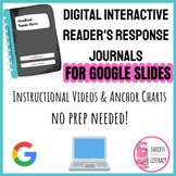 Digital Interactive Reader's Response Journals NO PREP for
