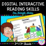Digital Interactive Reading Skills Google Slides Distance