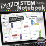 Digital Interactive STEM Notebook for Engineering & Design Challenges