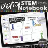 Digital Interactive STEM Notebook for Engineering & Design