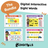 Digital Interactive Sight Words | Distance Learning