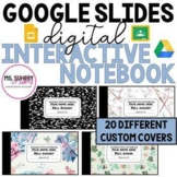 Digital Interactive Student Notebook Template for Bell Ringers & Journals