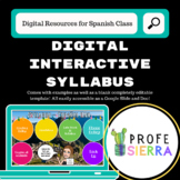 Digital Interactive Syllabus *EDITABLE*
