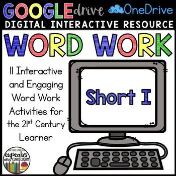 Digital Interactive Word Work: Short I